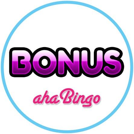 Latest bingo bonus from aha Bingo Casino