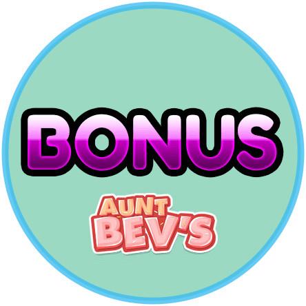 Latest bingo bonus from Aunt Bevs Casino