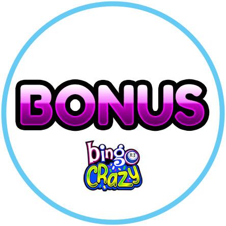 Latest bingo bonus from Bingo Crazy