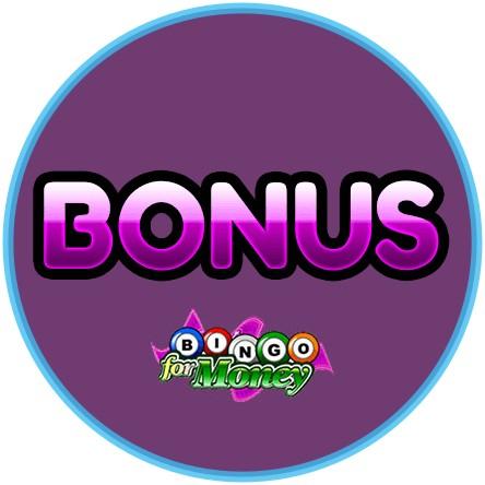 Latest bingo bonus from Bingo for Money Casino