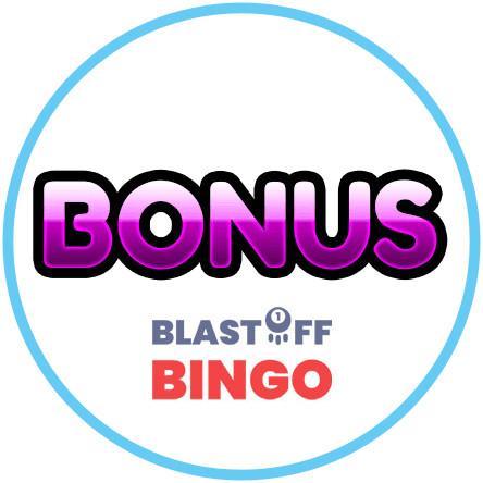Latest bingo bonus from Blastoff Bingo