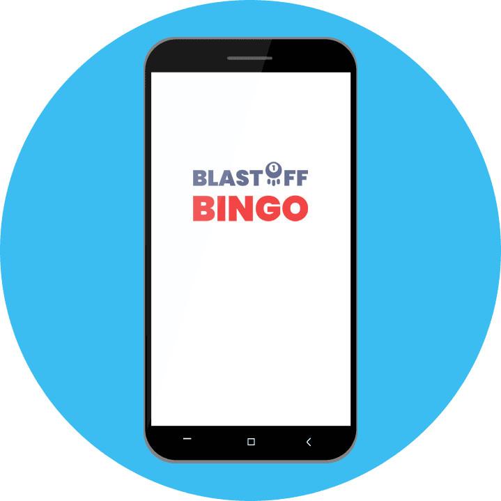 Mobile Blastoff Bingo