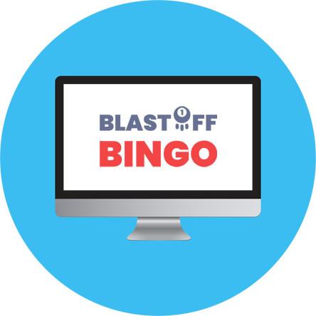 Blastoff Bingo - Online Bingo