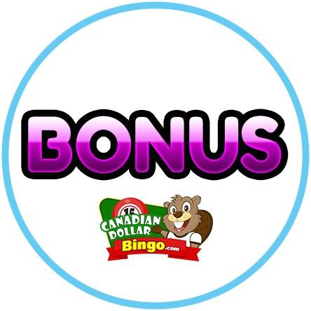Latest bingo bonus from Canadian Dollar Bingo