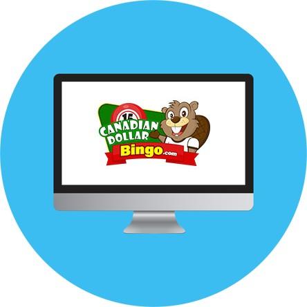 Canadian Dollar Bingo - Online Bingo