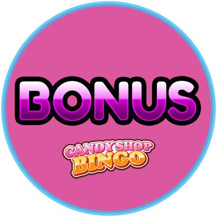 Latest bingo bonus from Candy Shop Bingo Casino
