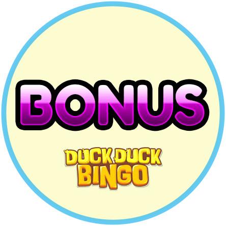 Latest bingo bonus from Duck Duck Bingo Casino