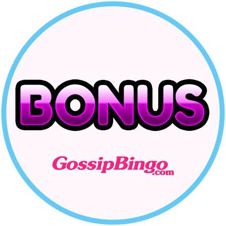 Latest bingo bonus from Gossip Bingo