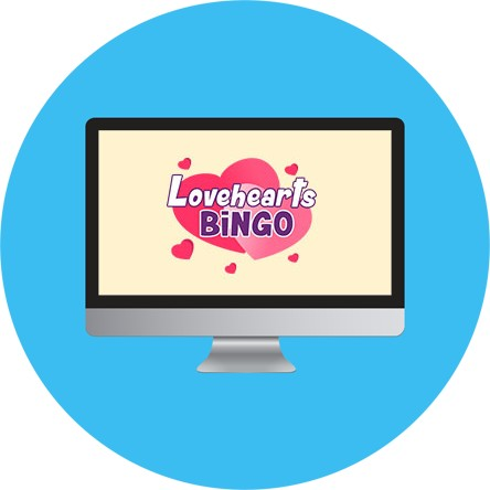 Love Hearts Bingo - Online Bingo