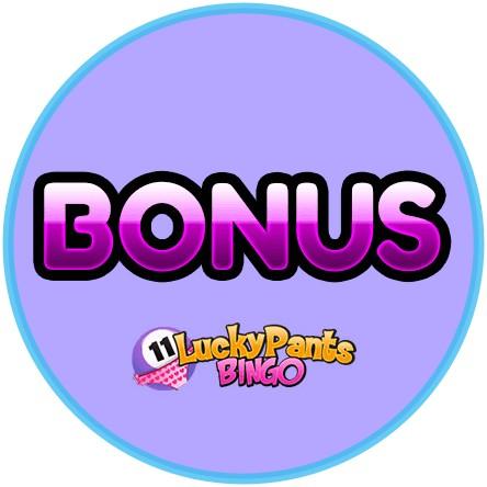 Latest bingo bonus from Lucky Pants Bingo Casino