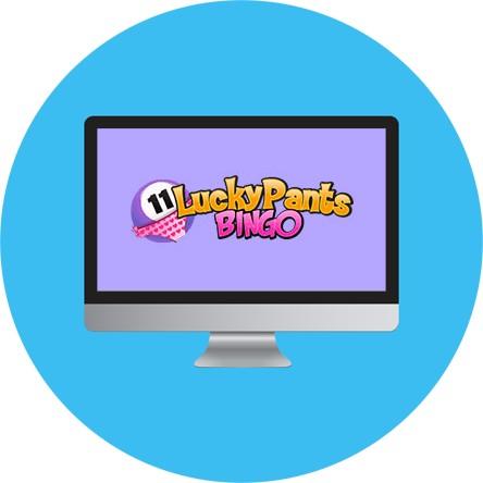 Lucky Pants Bingo Casino - Online Bingo