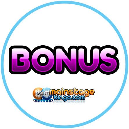 Latest bingo bonus from Mainstage Bingo Casino
