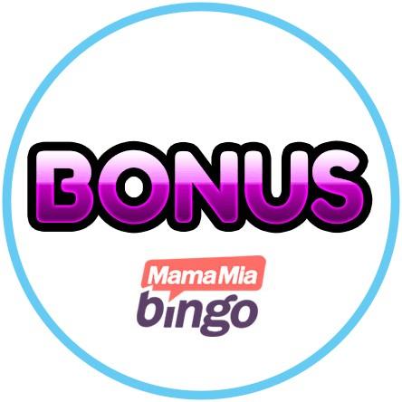 Latest bingo bonus from MamaMia Bingo Casino