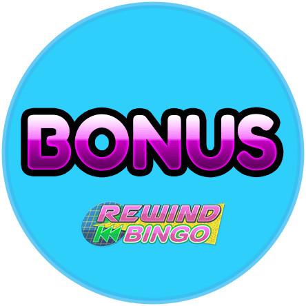 Latest bingo bonus from Rewind Bingo