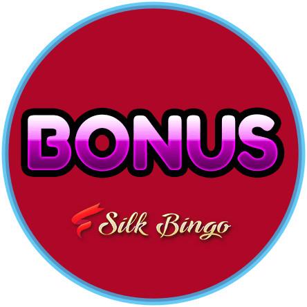 Latest bingo bonus from Silk Bingo