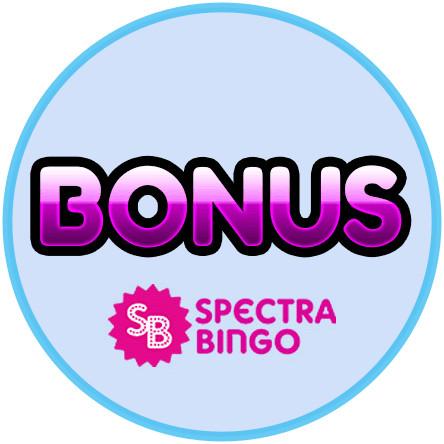 Latest bingo bonus from Spectra Bingo
