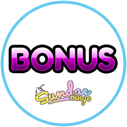 Latest bingo bonus from Sundae Bingo Casino