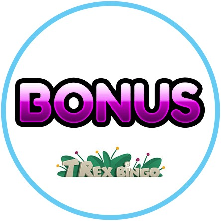 Latest bingo bonus from T-Rex Bingo Casino