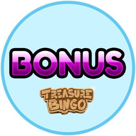 Latest bingo bonus from Treasure Bingo