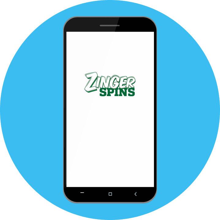 Mobile Zinger Spins Casino