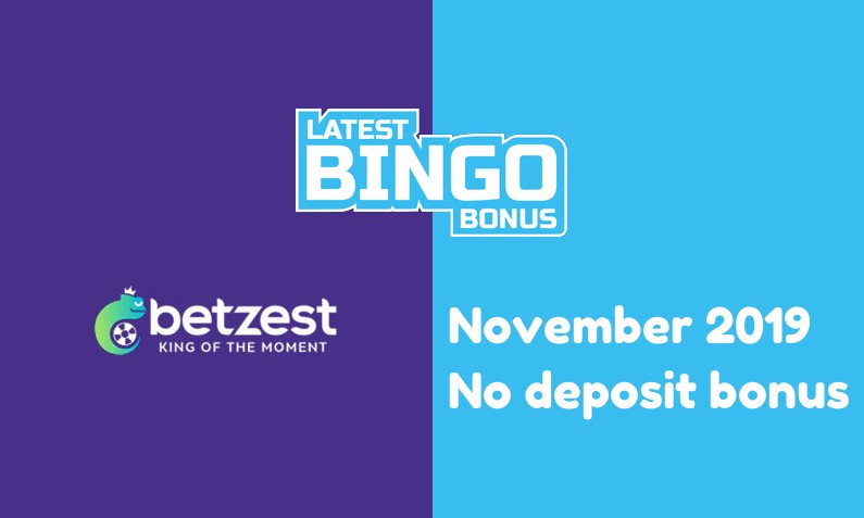 Latest Betzest Casino no deposit bonus