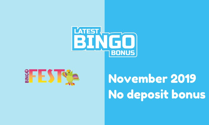 Latest bingo site no deposit bonus from BingoFest Casino, 10 Extraspins
