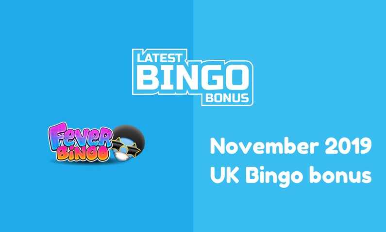 Latest Fever Bingo UK bingo bonus