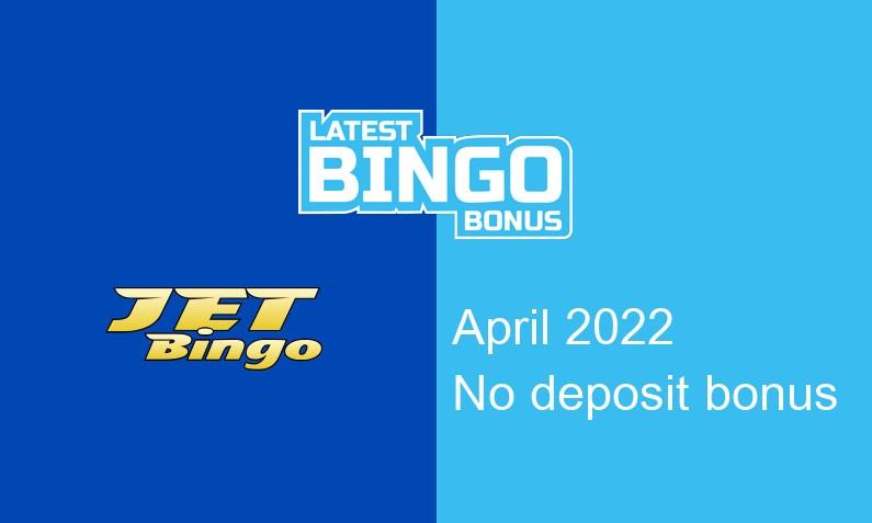 Latest JetBingo no deposit bonus