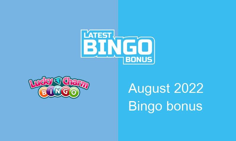 Latest Lucky Charm Bingo Casino bingo bonus