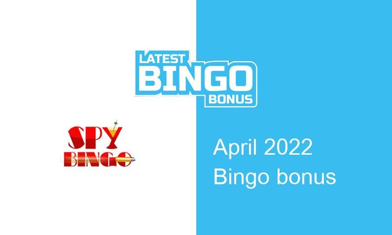Latest Spy Bingo Casino bingo bonus
