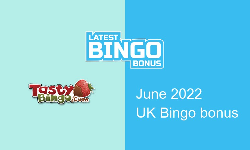 Latest Tasty Bingo Casino UK bingo bonus