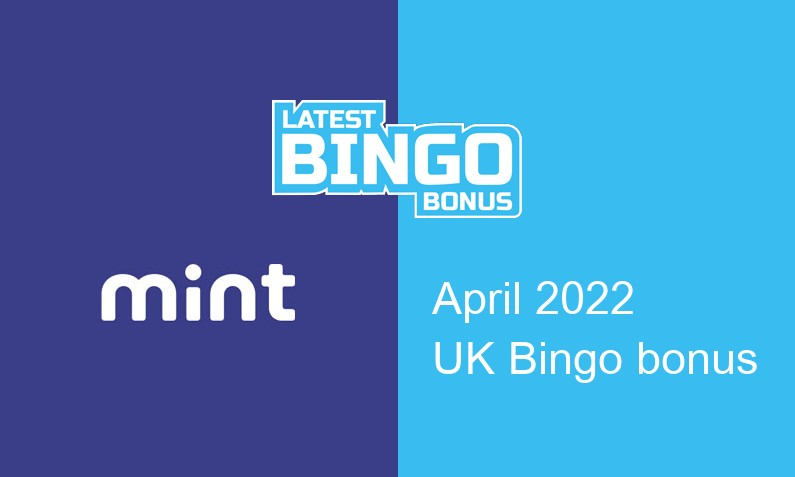 Latest UK bingo bonus from Mint Bingo